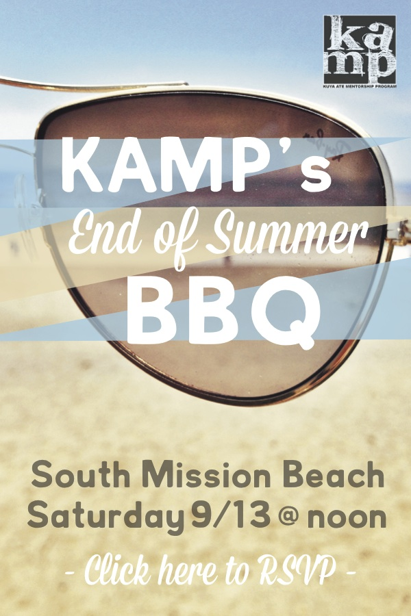 KAMP's End of SummerBBQ!