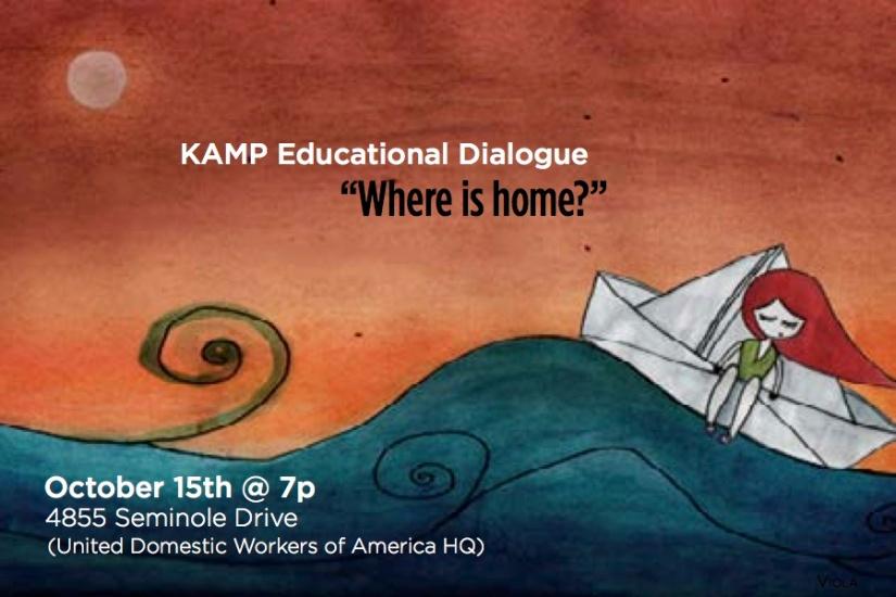 "Educational Dialogue: ""Where IsHome?"""